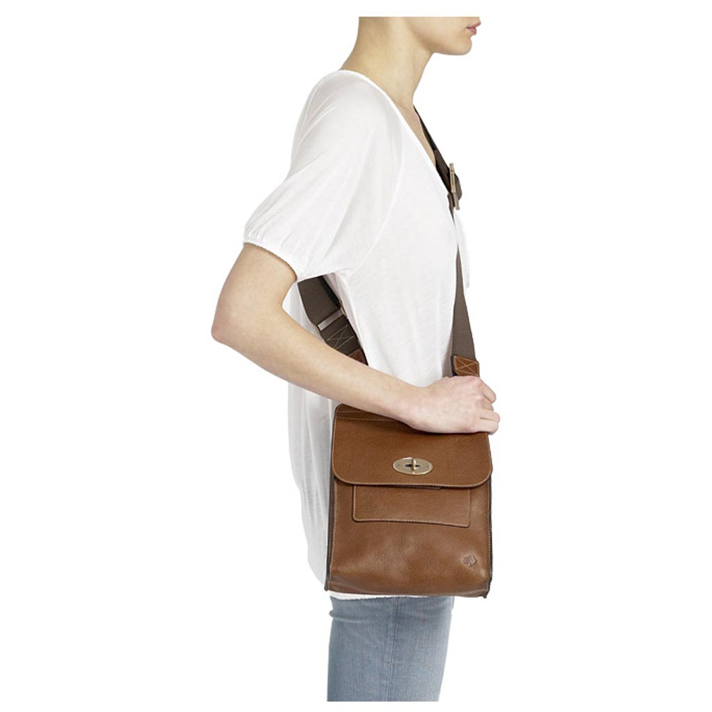 b03488e96d order mulberry antony small messenger bag in chocolate 3ee93 39936   wholesale mulberry antony in brown for men lyst 38352 4883b