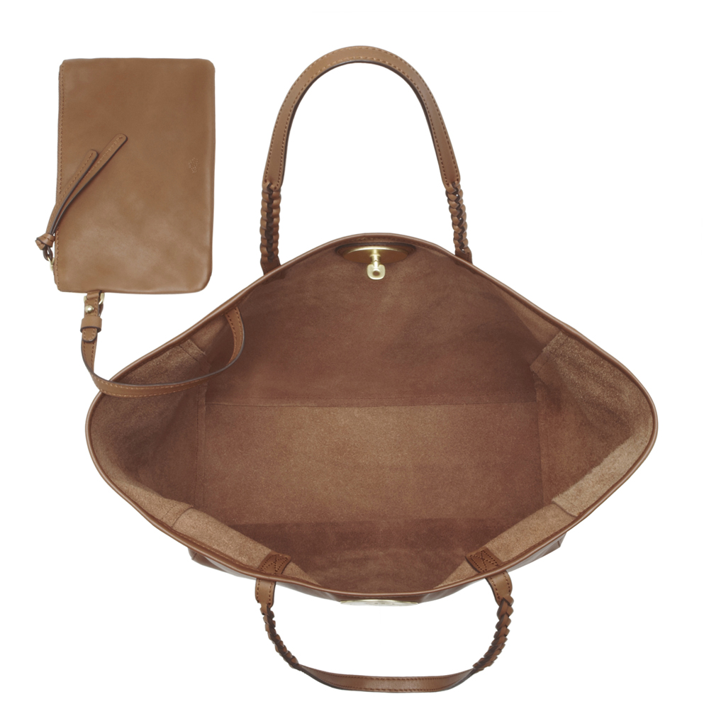 e5f3db3076 ... official store lyst mulberry medium dorset tote in brown 2f269 c530d