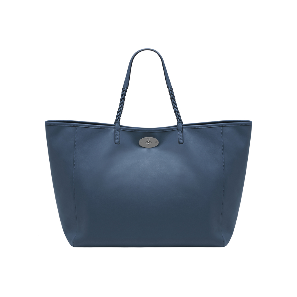 5053397ae8e ... where to buy lyst mulberry large dorset tote in blue ab82b 877bb