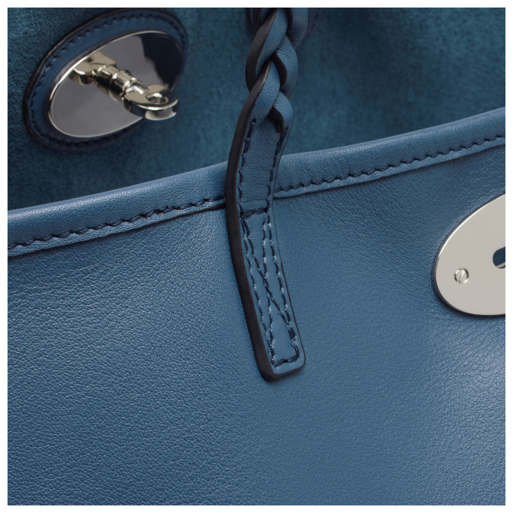 4381f5d715 ... where to buy lyst mulberry large dorset tote in blue 0dd55 0a97f