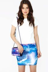 Nasty Gal Lightning Bolt Skirt - Lyst