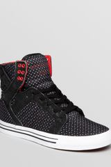 Supra Skytop Triangle Plus Sneakers - Lyst