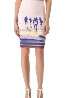 Clover Canyon Neoprene Pencil Skirt - Lyst