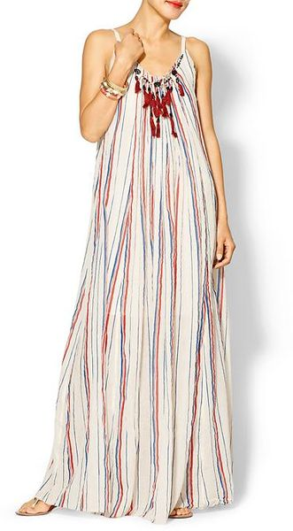 Free People Striped Uniearthen Dress - Lyst
