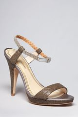 Juicy Couture Ankle Strap Platform Sandals Alexa High Heel - Lyst