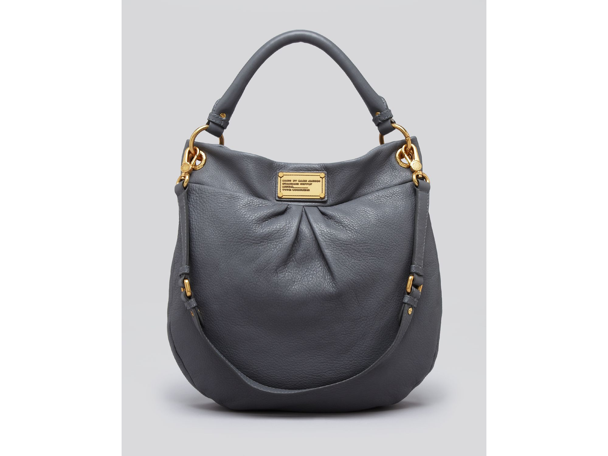 15abfea9185 Marc By Marc Jacobs Hobo Classic Q Hillier in Gray - Lyst