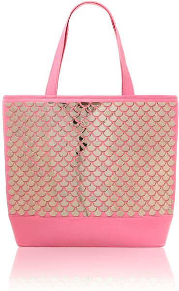 Ted Baker Mirror Tote Bag in Pink - Lyst