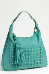 Big Buddha Finley Faux Leather Hobo - Lyst