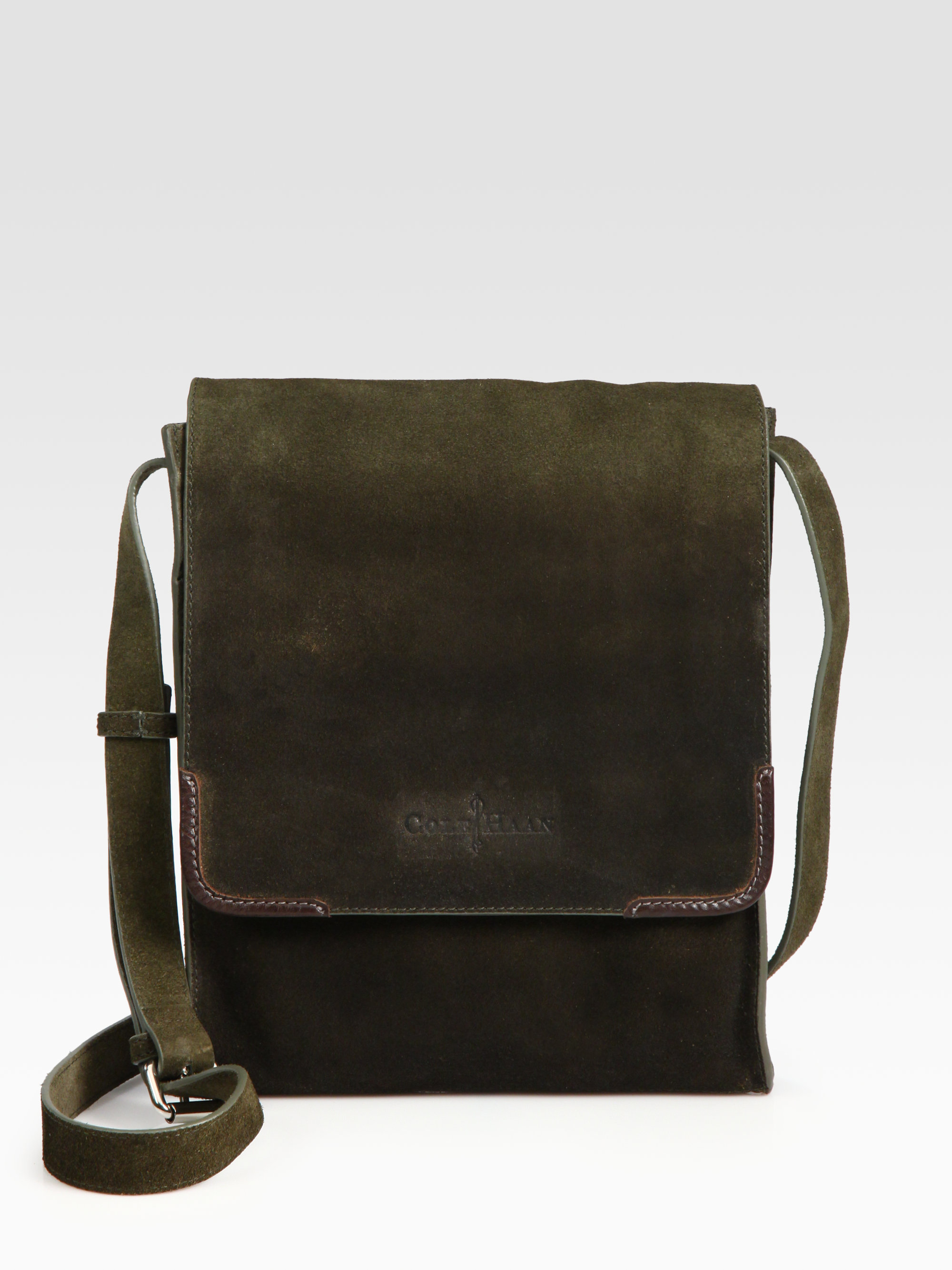 0379e6027f6e Lyst - Cole Haan Merced Newspaper Bag in Black for Men