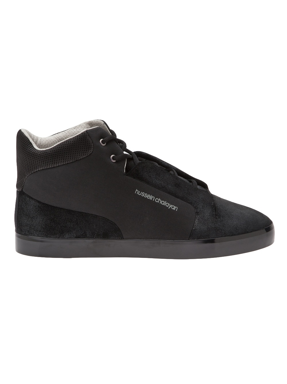 puma high tops in black for men lyst