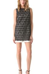 Shoshanna Lace Karen Dress - Lyst