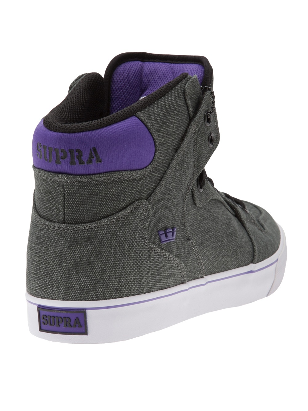 Supra High Tops In Gray For Men Grey Lyst
