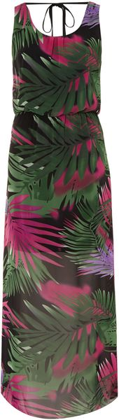 Therapy Tropical Print Maxi Dress - Lyst