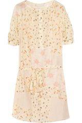 Vanessa Bruno Floralprint Cotton Dress - Lyst