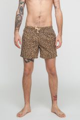 Vanishing Elephant Wentworth Leopard Boardshort - Lyst