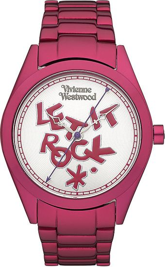 Vivienne Westwood Let It Rock Bracelet Watch - Lyst