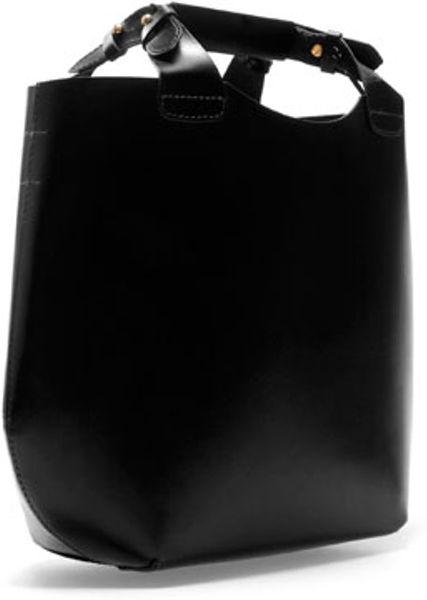 Zara Mini Tote Bag In Black Lyst