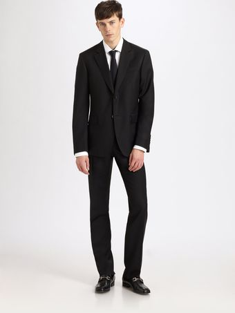 Burberry Wool Suit - Lyst