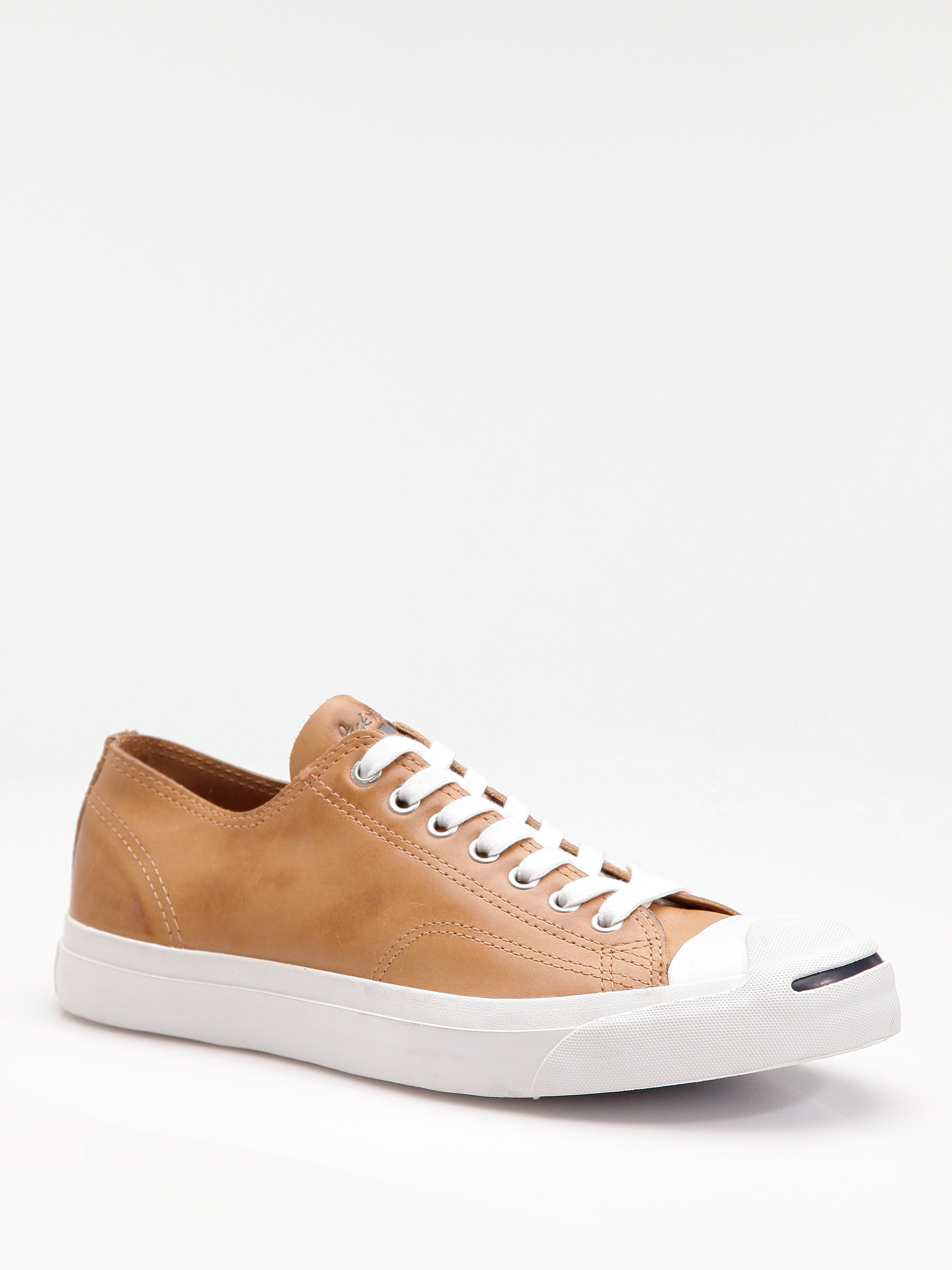 27c5e6fd18e7 Lyst - Converse Jack Purcell Leather Oxfords in Brown for Men