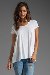 Demylee Madison Short Sleeve Top - Lyst
