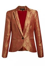 Elizabeth And James Wren Blazer in Coral