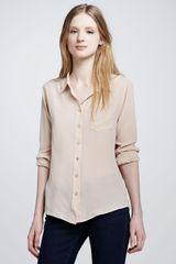 Equipment Brett Button-Up Blouse - Lyst