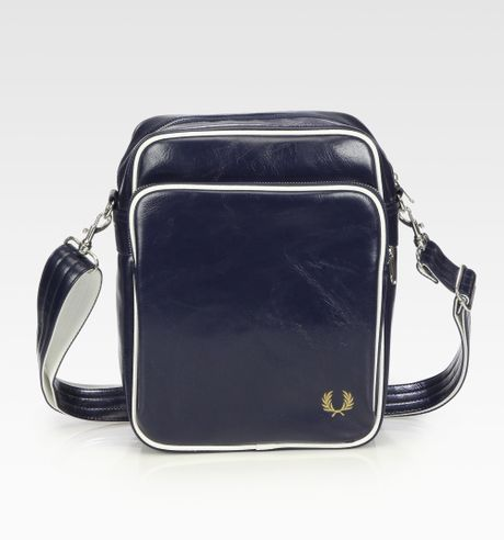 Fred Perry Classic Side Bag In Blue For Men Navy Lyst