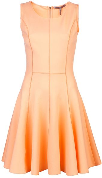 Halston Heritage Ponti Dress - Lyst