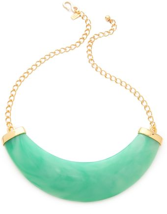 Kenneth Jay Lane Resin Bib Necklace - Lyst