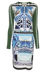 Mary Katrantzou Jersey Dress - Lyst