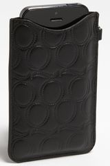 McQ by Alexander McQueen Leather Iphone 5 Sleeve - Lyst