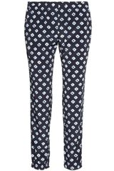 Michael by Michael Kors Printed Matte satin Pants - Lyst