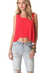 Mink Pink She Sells Sea Shells Top - Lyst