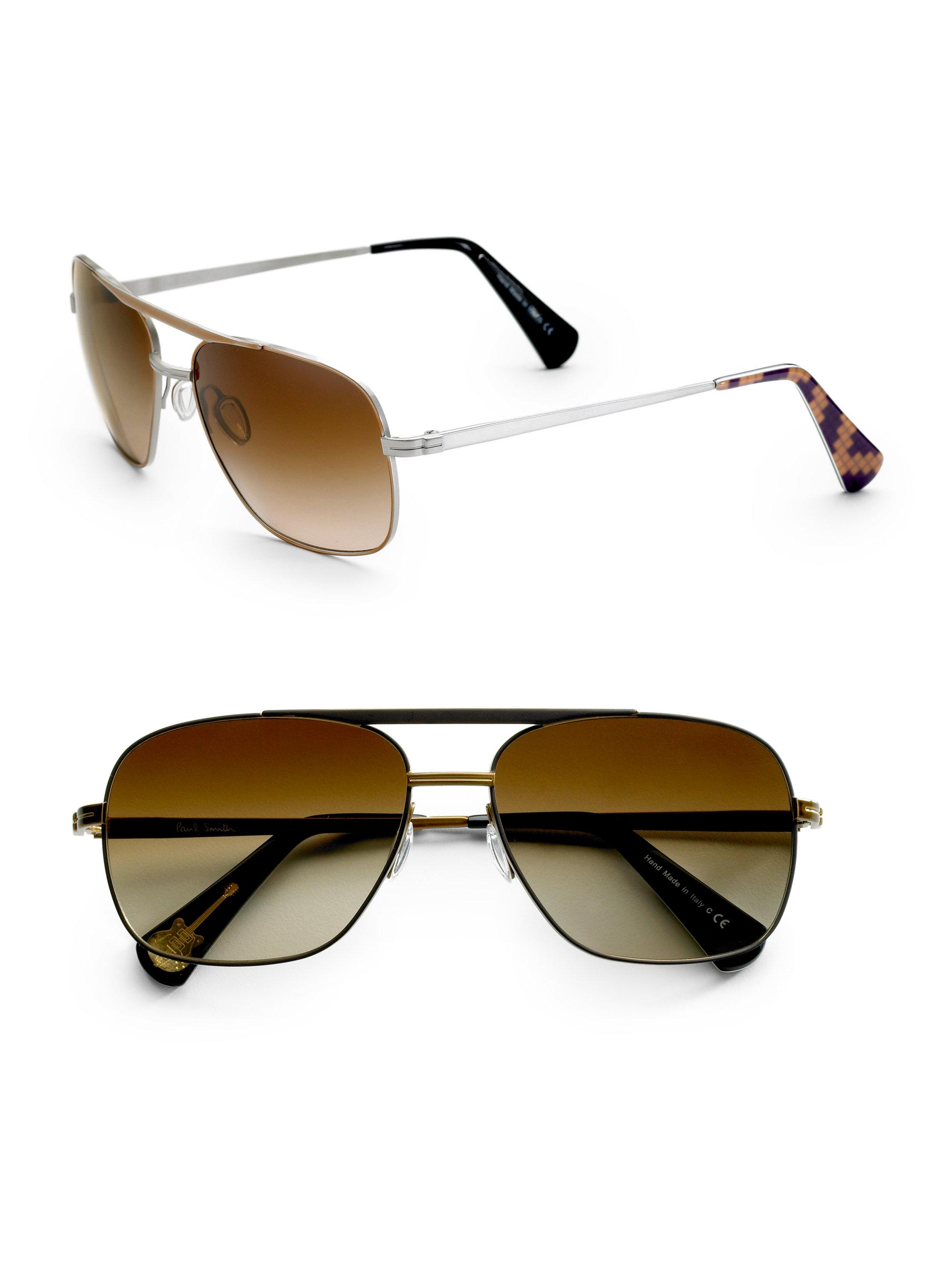 c1da2b18770f6 Paul Smith Cassel Square Sunglasses in Brown for Men - Lyst