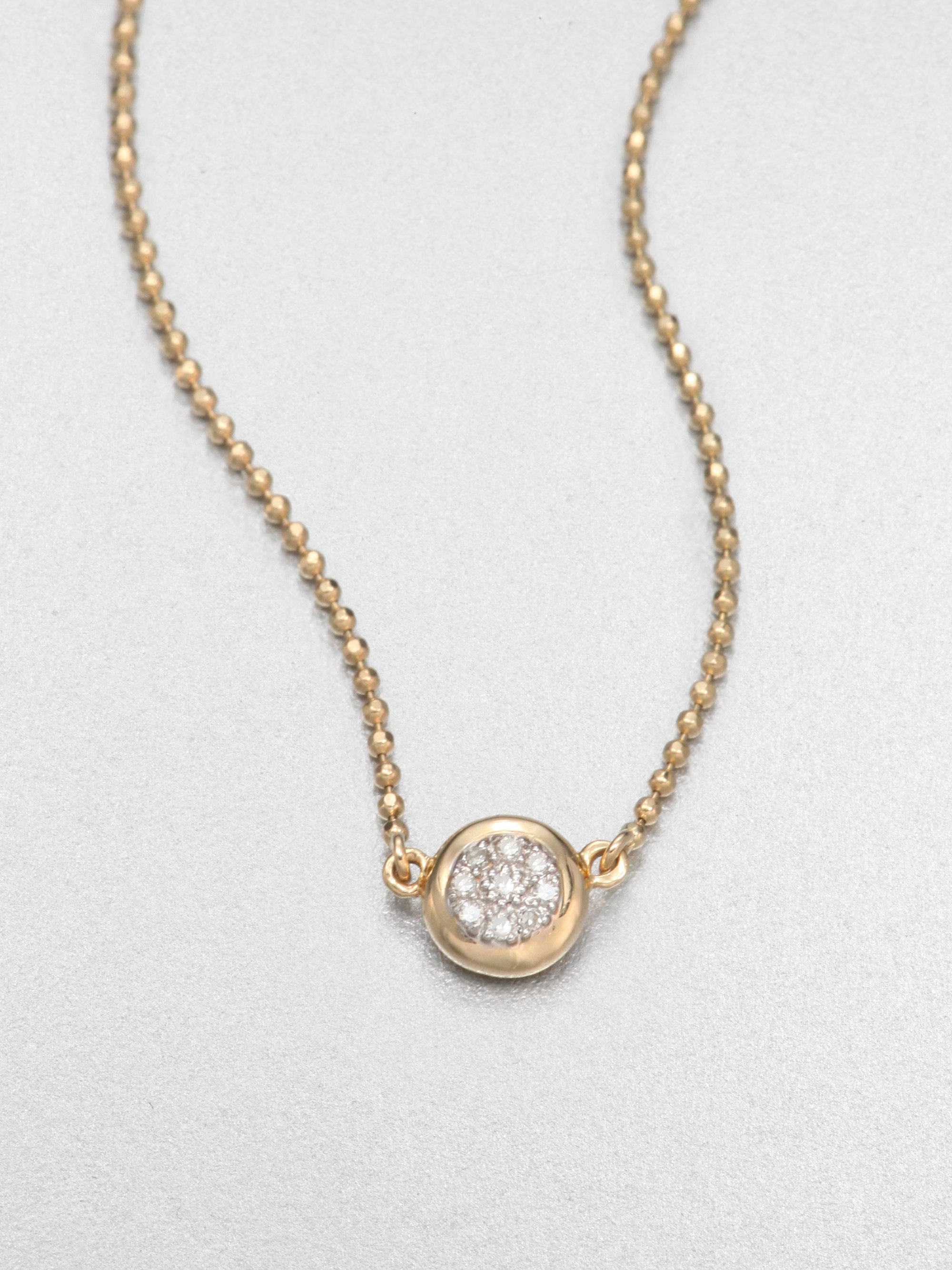 us jewelry house lyst phillips house 14k yellow gold delicate 2763