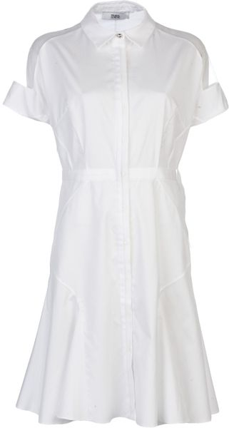 Prabal Gurung Flared Shirt Dress - Lyst