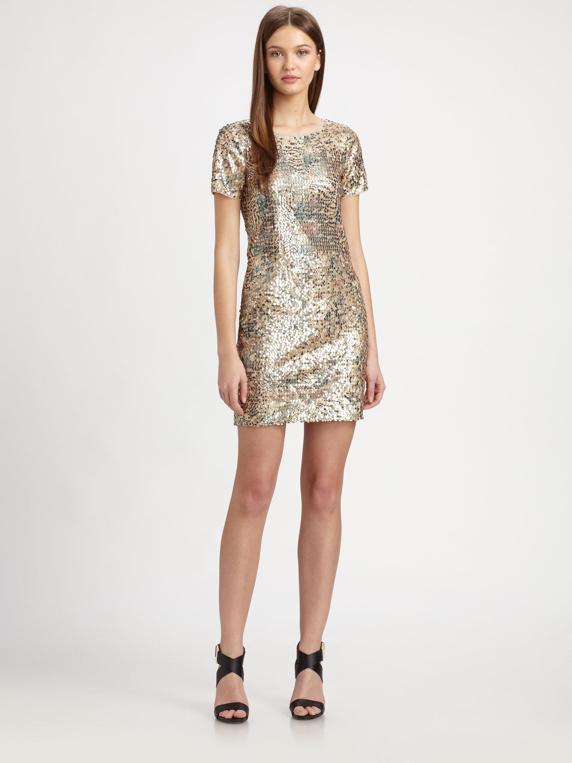 Rachel Zoe Jannis Sequin Dress Lyst