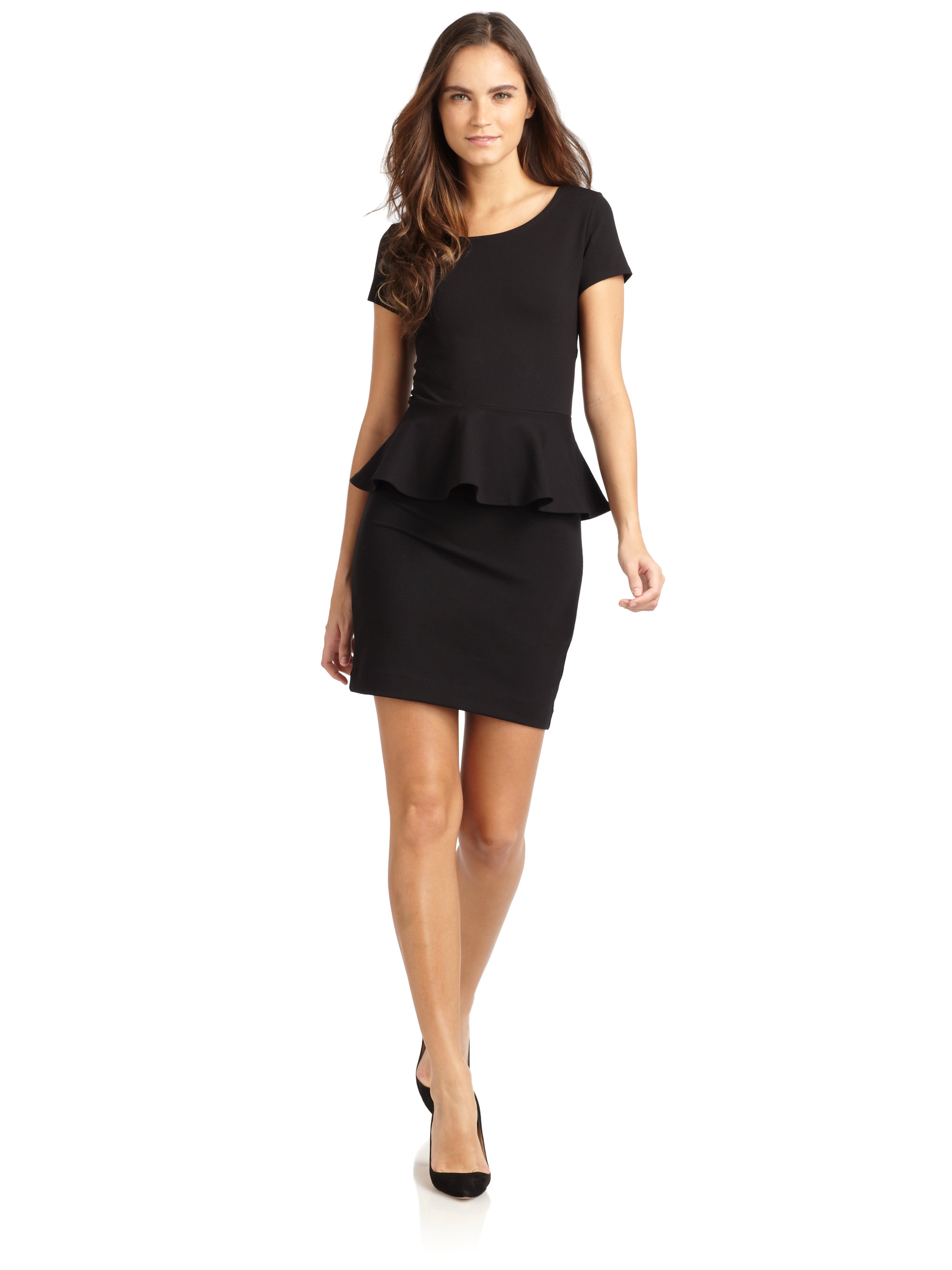 Gallery Previously Sold At Saks Fifth Avenue Women S Peplum Dresses