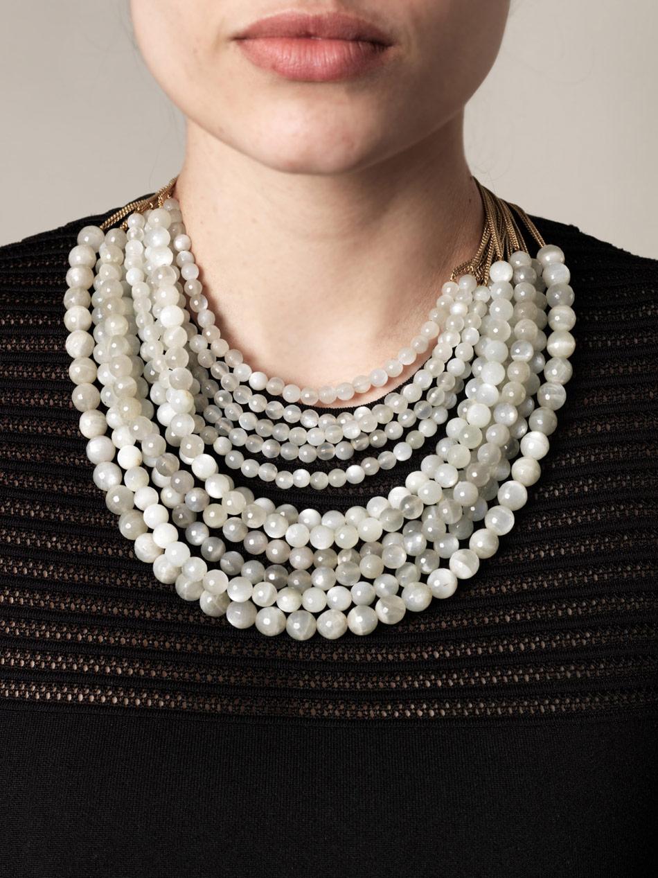 Rosantica Mini Raissa Beaded Necklace QIflAM2Io3