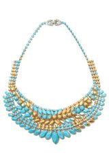 Tom Binns Gilded Pleasure Collar Necklace