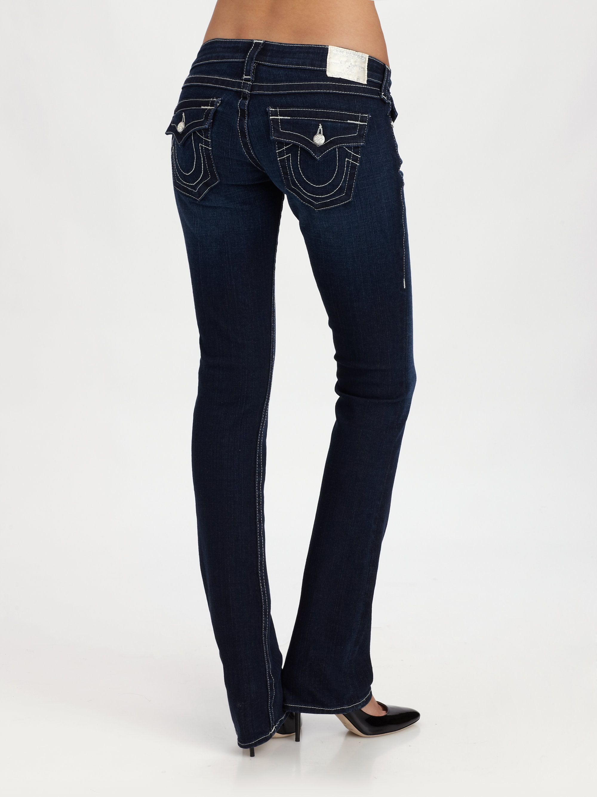 cb17dc37 True Religion Becky Bootcut Jeans in Blue - Lyst