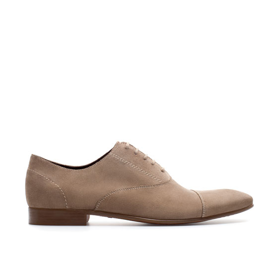 Awesome Zara Oxford Shoes With Toecap Detail In Multicolor For Men  Lyst