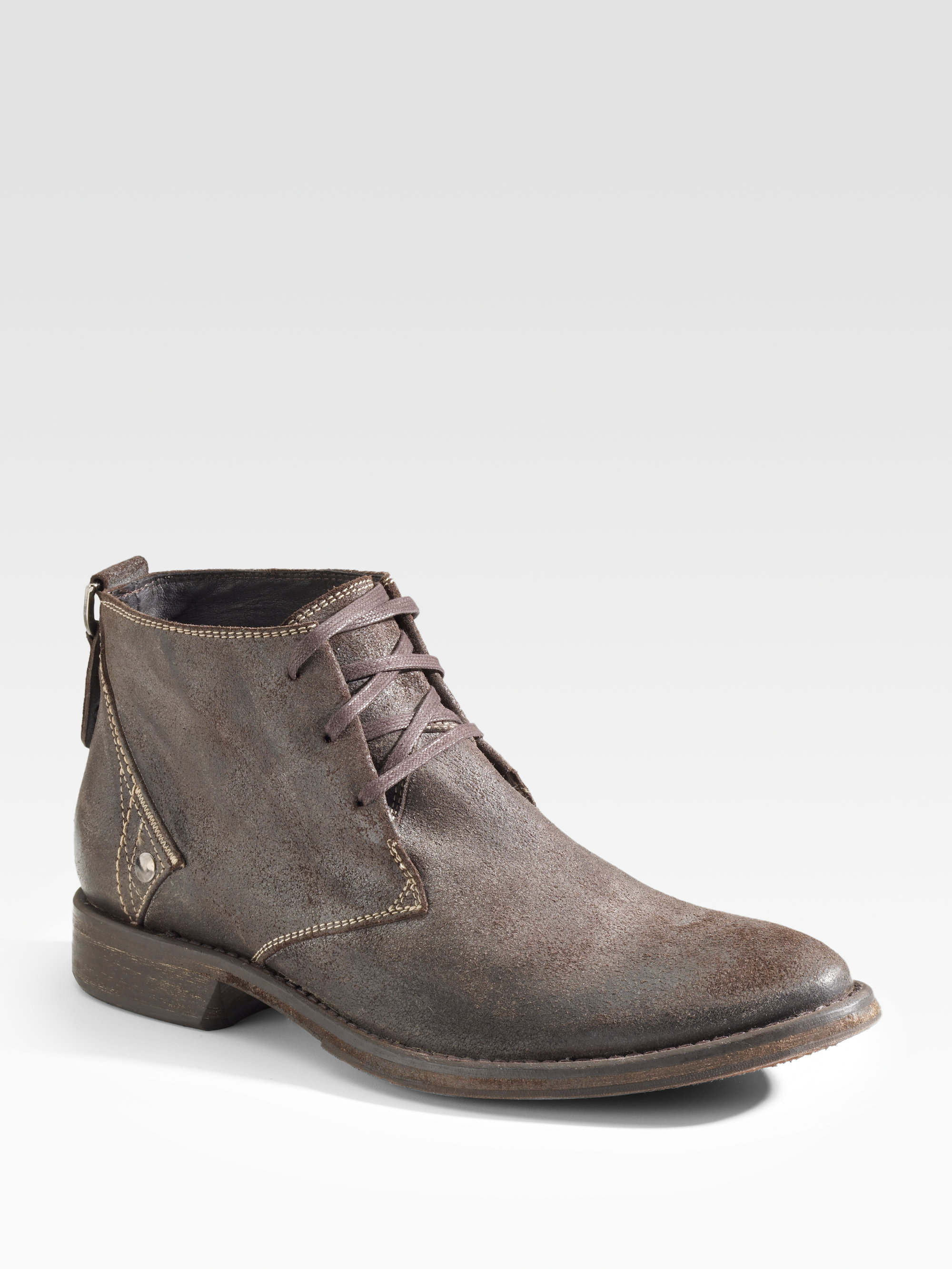 Diesel Plucky Ankle Boots In Brown For Men Lyst