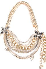 DSquared2 Multichain Necklace - Lyst