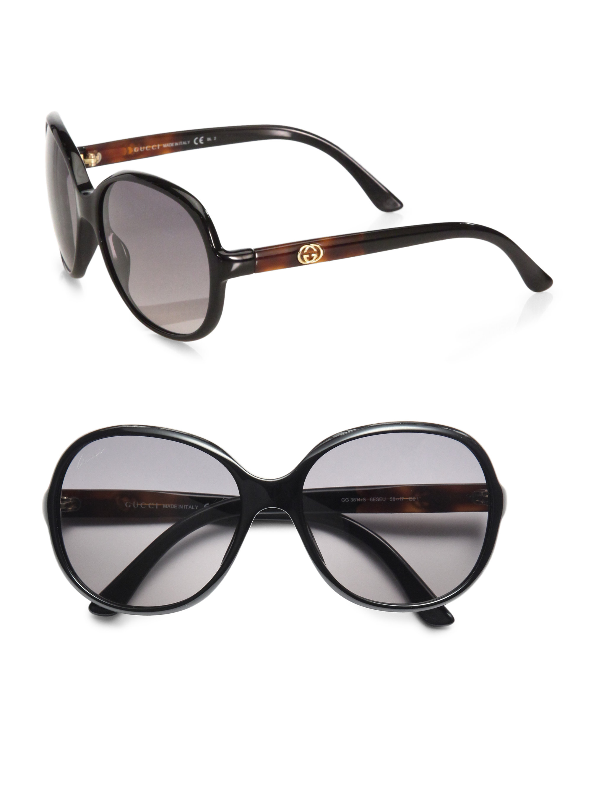 c383f80606e Gucci Womens Rounded Aviator Acetate Sunglasses ✓ Sunglasses Galleries