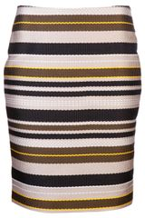 Jenni Kayne Striped Pencil Skirt - Lyst