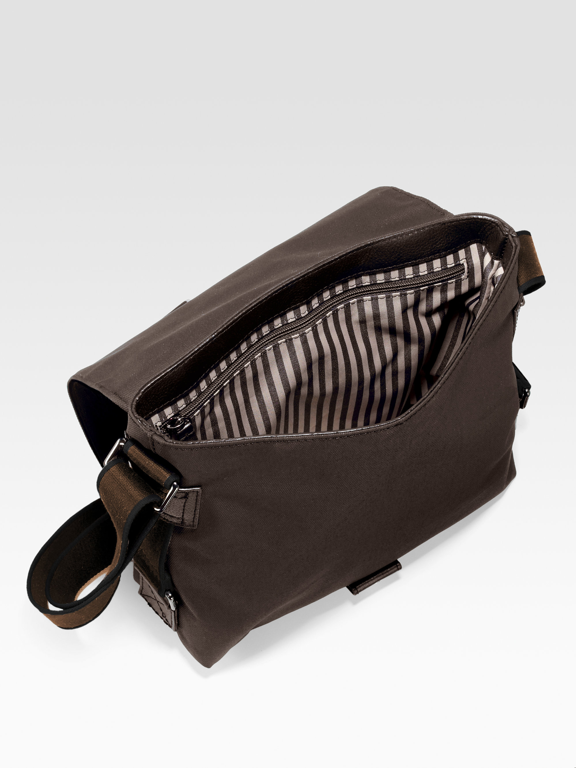 dd32801716 Lyst - Lacoste Downtown Messenger Bag in Brown for Men