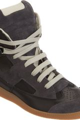 Maison Martin Margiela Extended Tongue High Top - Lyst