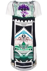 Mary Katrantzou Botanist Shift Dress - Lyst