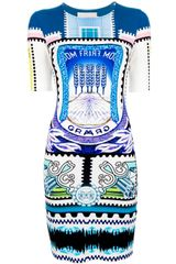 Mary Katrantzou Jigsaw Dress - Lyst